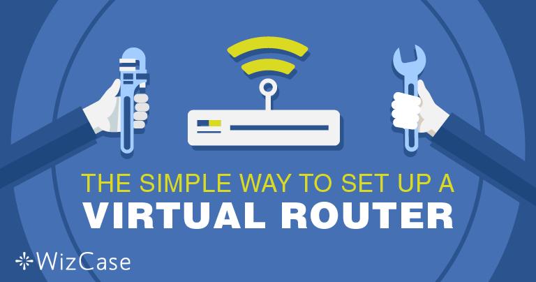 Как настроить виртуальный роутер на Windows при помощи VPN