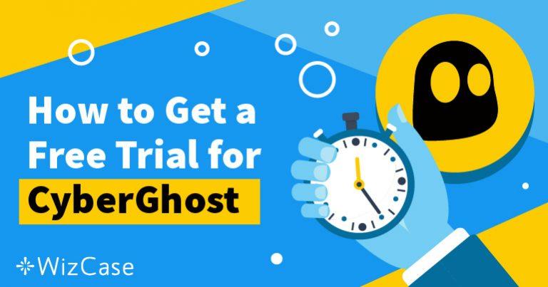 Начните бесплатный 45-дневный пробный период сервиса CyberGhost – вот инструкция