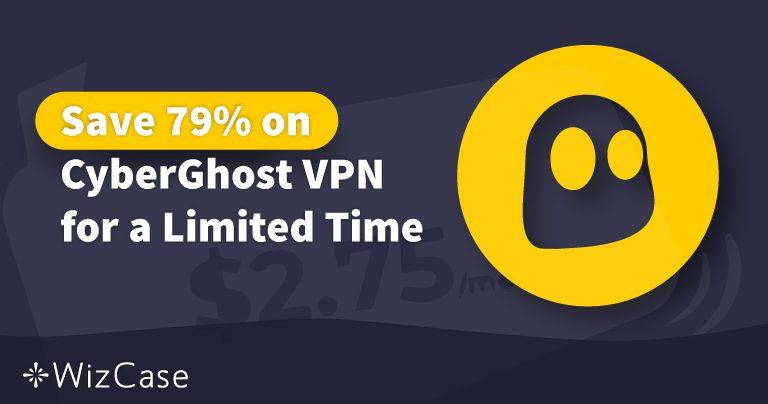 Действующий купон 2020 года на VPN CyberGhost: сэкономьте до 79% сегодня