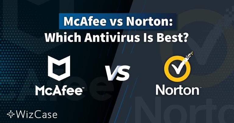 Norton против McAfee — 2021 год. Кто вышел победителем?