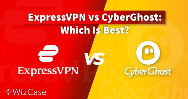 ExpressVPN против CyberGhost — 2021